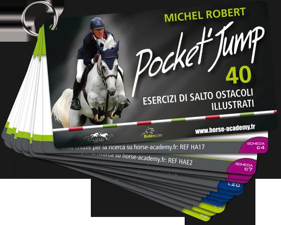 Pocket'Jump : 40 Esercizi di salto ostacoli illustrati