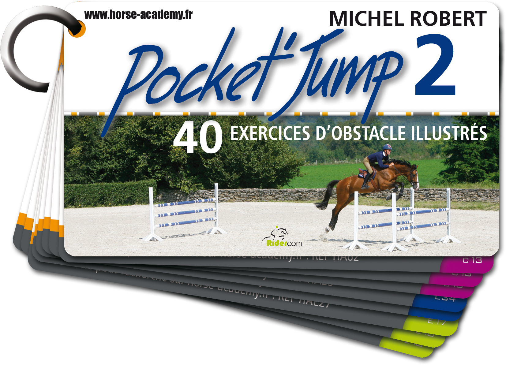 Pocket'Jump 2, 40 exercices d'obstacle illustrés